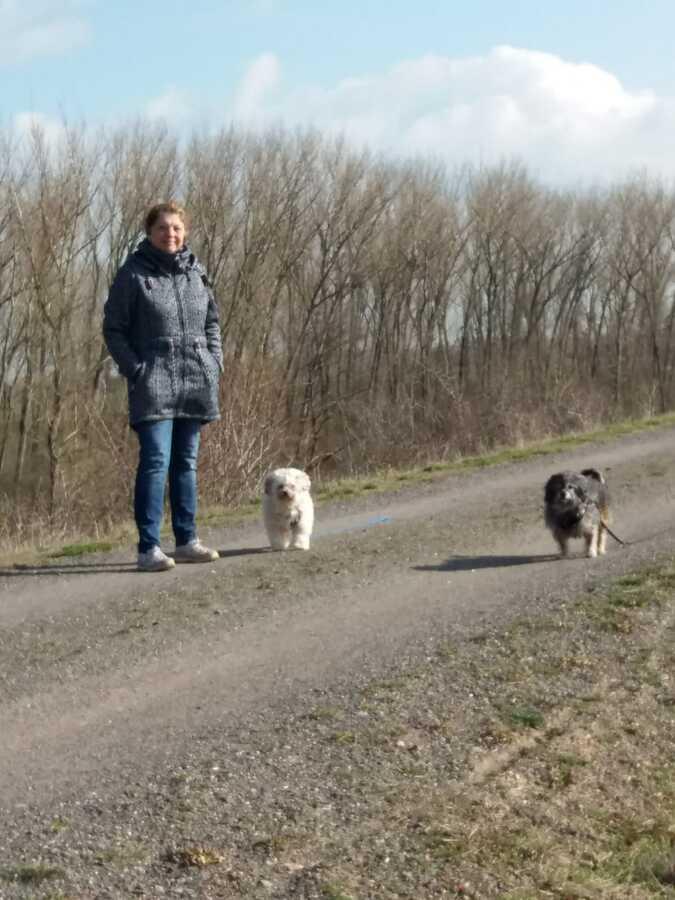 Mittellandkanal -Spaziergang